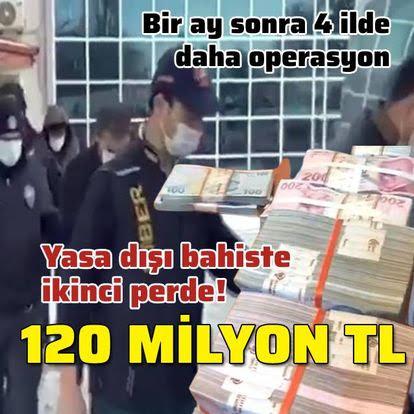 Son Dakika Ankara merkezli 'yasa dışı bahis' operasyonunda ikinci perde! Bir ay sonra 12 gözaltı daha